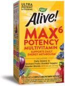 Alive Multi-Vitamin Max Potency, 90 Caps with Iron Nature's Way