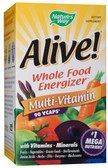 Alive Multi-Vitamin Max Potency 90 Caps with Iron Nature's Way