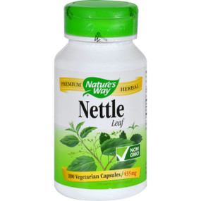 Nettle Leaf 435 mg 100 Caps Nature's Way, Source of Chlorophyll