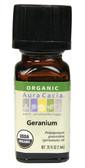 Buy Essential Oil Organic Geranium 0.25 oz Aura Cacia Online, UK Delivery, Aromatherapy Essential Oils