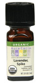 Buy Essential Oil Organic Spike Lavender 0.25 oz Aura Cacia Online, UK Delivery, Aromatherapy Essential Oils