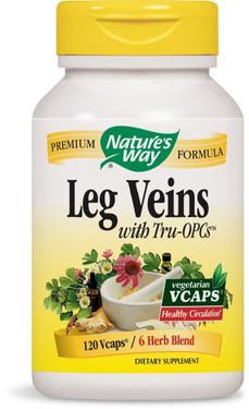 Leg Veins with Tru-OPCs 120 Caps Nature's Way, UK Shop