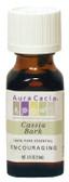 Buy Aura Cacia Cassia (Cinnamon) Bark 100% Pure Essential Oil 0.5 oz Online, UK Delivery, Aromatherapy Essential Oils
