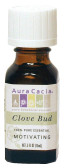 Buy Aura Cacia Clove Bud 100% Pure Essential Oil 0.5 oz bottle Online, UK Delivery, Aromatherapy Essential Oils
