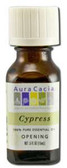 Buy Aura Cacia Cypress 100% Pure Essential Oil 0.5 oz bottle Online, UK Delivery, Aromatherapy Essential Oils