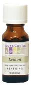 Buy Aura Cacia Lemon 100% Pure Essential Oil 0.5 oz bottle Online, UK Delivery, Aromatherapy Essential Oils