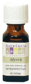 Buy Aura Cacia Myrrh 100% Pure Essential Oil 0.5 oz bottle Online, UK Delivery
