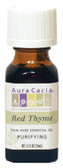 Buy Aura Cacia Thyme (Red) 100% Pure Essential Oil 0.5 oz bottle Online, UK Delivery, Aromatherapy Essential Oils