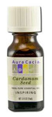 Buy Aura Cacia Cardamom Seed 100% Pure Essential Oil 0.5 oz bottle Online, UK Delivery, Aromatherapy