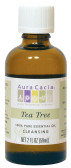 Buy Aura Cacia Tea Tree 100% Pure Essential Oil 2 oz bottle Online, UK Delivery, Aromatherapy Essential Oils