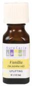 Buy Aura Cacia Essential Oil Vanilla (in jojoba oil) 0.5 oz bottle Online, UK Delivery, Aromatherapy