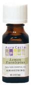 Buy Aura Cacia Lemon Eucalyptus 100% Pure Essential Oil 0.5 oz bottle Online, UK Delivery