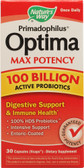 Primadophilus Optima Max Potency 100 Billion 30 Caps, Digestion