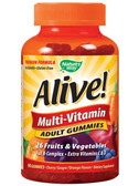 Alive Multi-Vitamin 90 Adult Gummies, Nature's Way 26 Fruits & Veggies