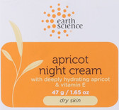 Buy Apricot Night Cream 2 oz Earth Science Online, UK Delivery, Night Creams Normal to Dry Skin Type