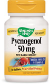Pycnogenol 50 mg 30 Tabs, Nature's Way, Pine Bark Extract, UK Shop