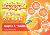 Buy Emer'gen-C Super Orange 30 pkts Alacer Immune Energy Booster Online, UK Delivery, Vitamin C