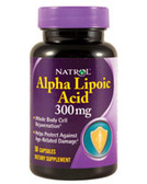 Alpha Lipoic Acid 300 mg 50 Caps Natrol ALA, Powerful Antioxidant