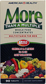 Buy Men's More Than A Multiple 90 Tabs American Health Online, UK Delivery, Wholefood Vitamins