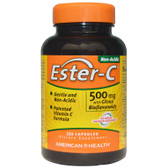 Buy Ester-C w/Citrus Bioflavonoids 500 mg 120 Caps American Health Online, UK Delivery, Vitamin Ester C Bioflavonoids