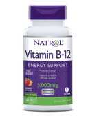 Vitamin B-12 5000mcg Strawberry 100 Tabs Natrol, UK Store