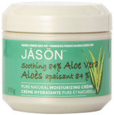 Buy Aloe Vera Cream 84% with Vit E 4 oz Jason Natural Online, UK Delivery