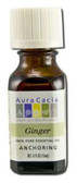 Ginger 100% Pure Essential Oil 0.5 oz (15 ml), Aura Cacia Aromatherapy