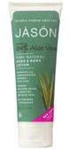 Buy Hand Body Lotion 84% Aloe Vera Gel 8 oz Jason Online, UK Delivery, Aloe Vera Lotion Cream Gel