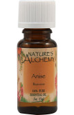Buy Essential Oil Anise .5 oz Nature's Alchemy Online, UK Delivery, Aromatherapy Essential Oils Anise Oil