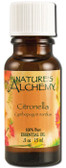 Buy Essential Oil Citronella .5 oz Nature's Alchemy Online, UK Delivery