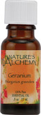 Buy Essential Oil Geranium .5 oz Nature's Alchemy Online, UK Delivery, Aromatherapy Essential Oils