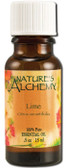 Buy Essential Oil Lime .5 oz Nature's Alchemy Online, UK Delivery, Aromatherapy Essential Oils