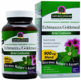 Buy Echinacea-Goldenseal 90 vegicaps Nature's Answer Immune Online, UK Delivery