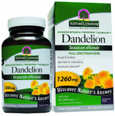 Buy Dandelion Root 90 caps Nature's Answer Online, UK Delivery, Herbal Remedy Natural Treatment