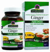 Buy Ginger Rhizome 90 caps Nature's Answer Online, UK Delivery