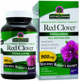 Buy Red Clover Tops 90 caps Nature's Answer Online, UK Delivery, Menopause Symptoms Hot Flashes Night Sweats Mood Swings Natural Herbal Treatment Relief Remedies Red Clover