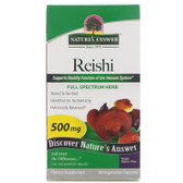 Buy Nature's Answer Reishi Mushroom Mycelia 90 Caps Online, UK Delivery, Immune Support Mushrooms