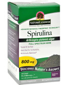 Buy Spirulina 90 Caps Nature's Answer Online, UK Delivery, Spirulina Green Food Superfoods