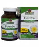 Buy Feverfew Herb Standardized 90 vegicaps Nature's Answer Online, UK Delivery, Herbal Remedy Natural Treatment