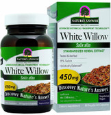 Buy White Willow Feverfew Standardized 60 vCaps Nature's Answer Online, UK Delivery