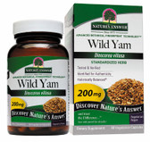 Buy Wild Yam Root Standardized 60 vegicaps Nature's Answer Online, UK Delivery