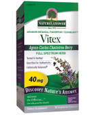 Vitex Agnus-Castus Chaste Berry 40 mg 90 vCaps, Nature's Answer, PMS