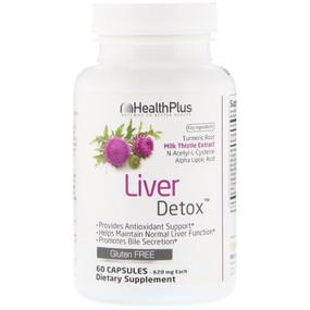 Super Liver Cleanse 60 Caps Health Plus