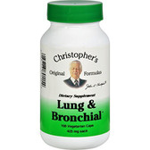 Buy Heal Lung & Bronchial 100 Caps Dr. Christopher's Online, UK Delivery, Lung Bronchial Formulas Remedy Relief Treatment Respiratory Support