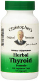 Buy Heal Herbal Thyroid 100 vegiCaps Dr Christopher's Formulas Online, UK Delivery, Thyroid Treatment Formulas Supplements