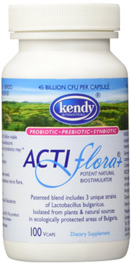 Buy Acti Flora+ Prebiotic 45bil cap 100 Caps Kendy Online, UK Delivery, Probiotics Acidophilus