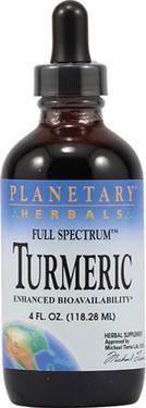 Buy Turmeric Liquid Full Spectrum 4 fl oz Planetary Herbals Online, UK Delivery