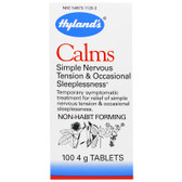 Buy Calms 100 Tabs, Hyland's Homeopathic, Nerve Tension, Sleeplessness, UK