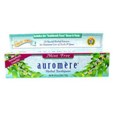 Buy Toothpaste Mint-Free 4.16 oz Auromere Online, UK Delivery, Oral Dental Care Teeth Whitening