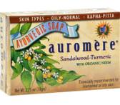 Buy Ayurvedic Bar Soap Sandal-Turmeric 2.75 oz Auromere Online, UK Delivery,